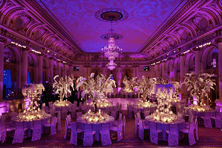 plaza hotel gala tables