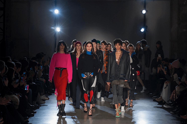 finale fashion show models runway