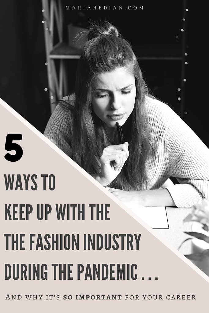 how to network in the fashion industry pinterest pin 2
