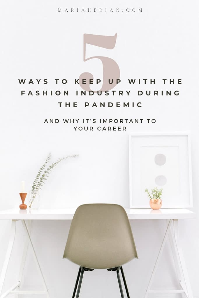 how to network in the fashion industry pinterest pin 1