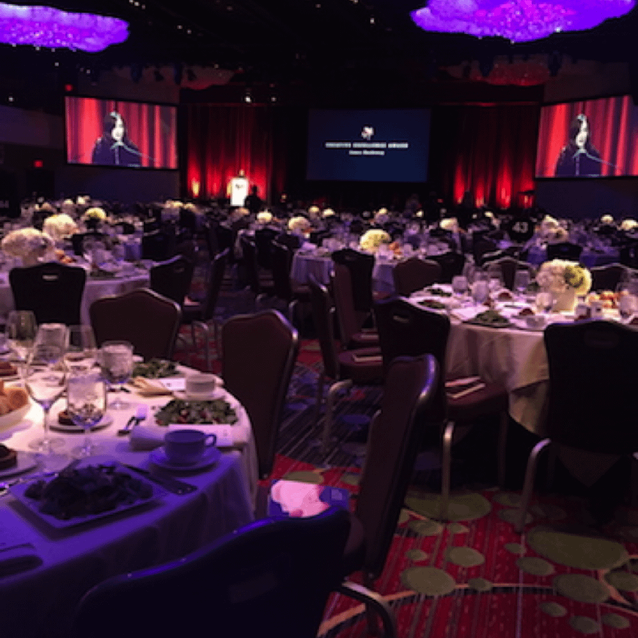 ballroom tables plaza hotel gala event
