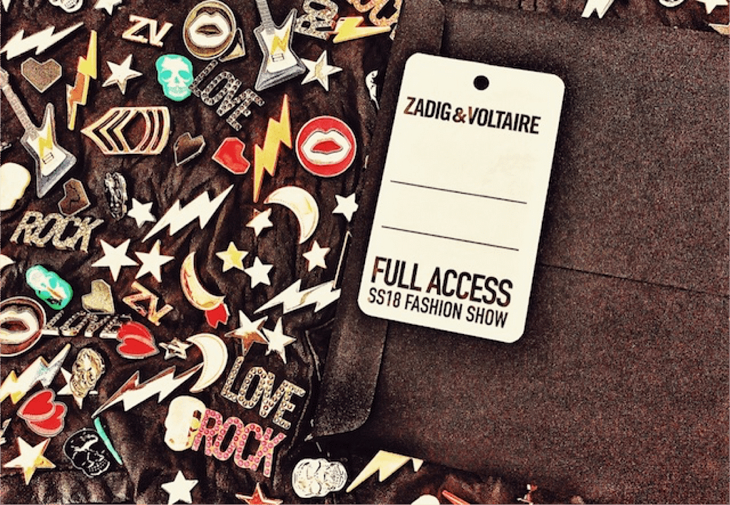 full access pass fashion show