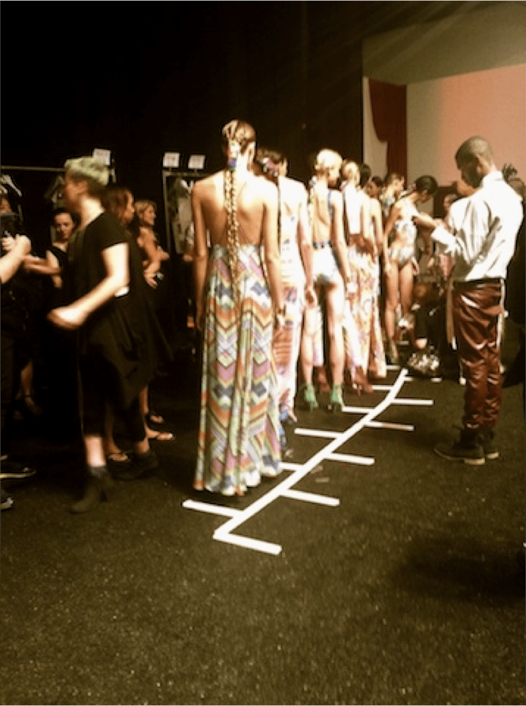 backstage finale model lineup
